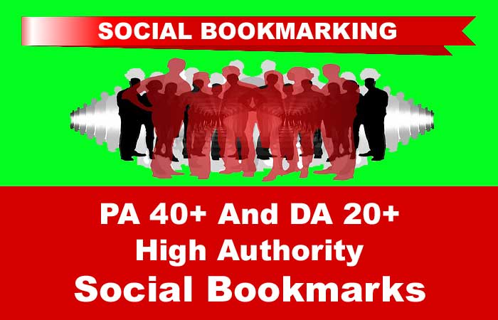 20 PA40+ And DA20+ High Authority Social Bookmarks To Boost Search Position,  Reach Page 1 Of Google