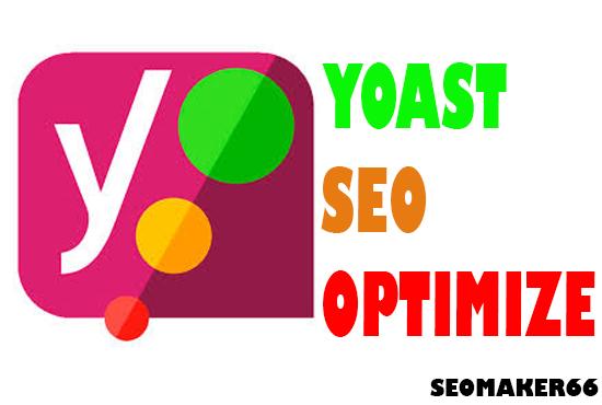 10 page I will do WordPress Rank Math/Yoast SEO on page optimization 2021
