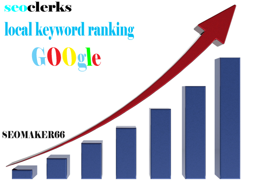 2 local keyword ranking google first page