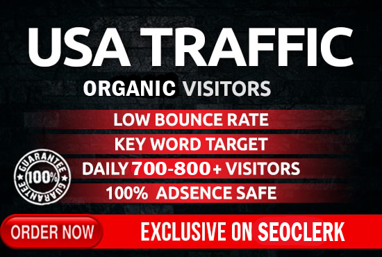 I will drive safe organic USA traffic