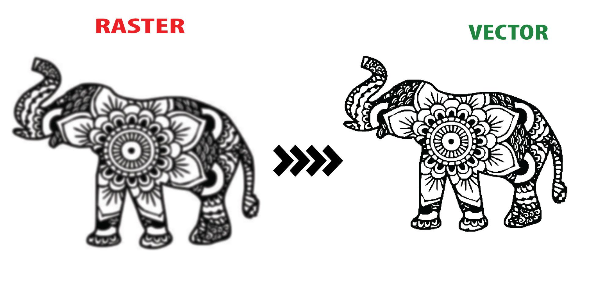 I can trace logo or image using illustrator