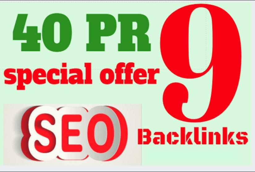 Submit 40 Pr9 DA90+ Safe And Permanent Manual SEO With High Authority Backlinks