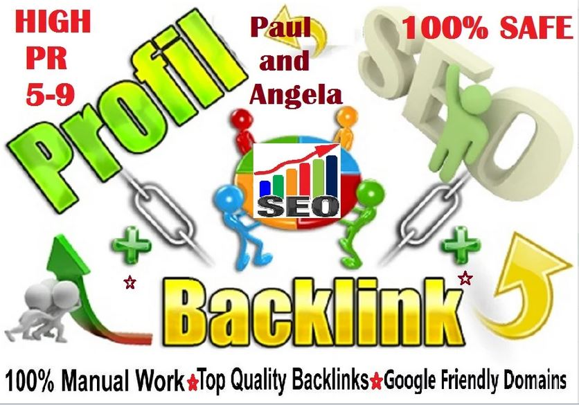 Latest Package, 75 High Quality Angela Paul Profile Backlinks