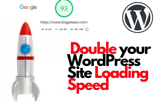 Double your WordPress Website Speed and Boost SEO
