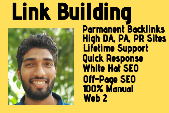 I will do Link Building in High DA,  PA and PBN Sites