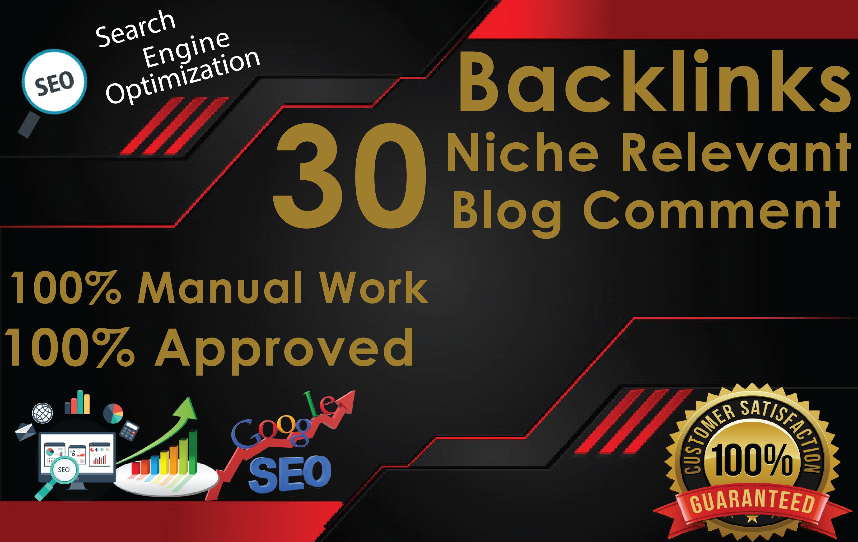 30 Niche Relevant Blog Comments
