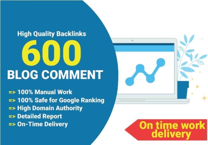 I will 600 dofollow backlinks white hat SEO link building
