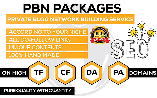 Homepage 15 PBNs and 1500 2nd Tire Backlinks