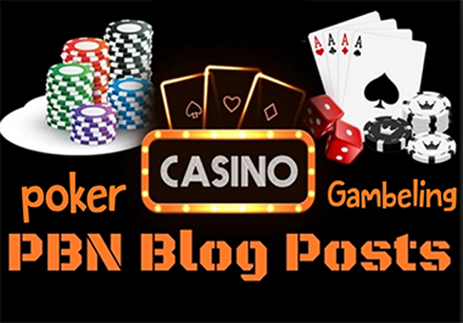 100 PBN Links Casino/Gambling/Poker sites From Top Casino site