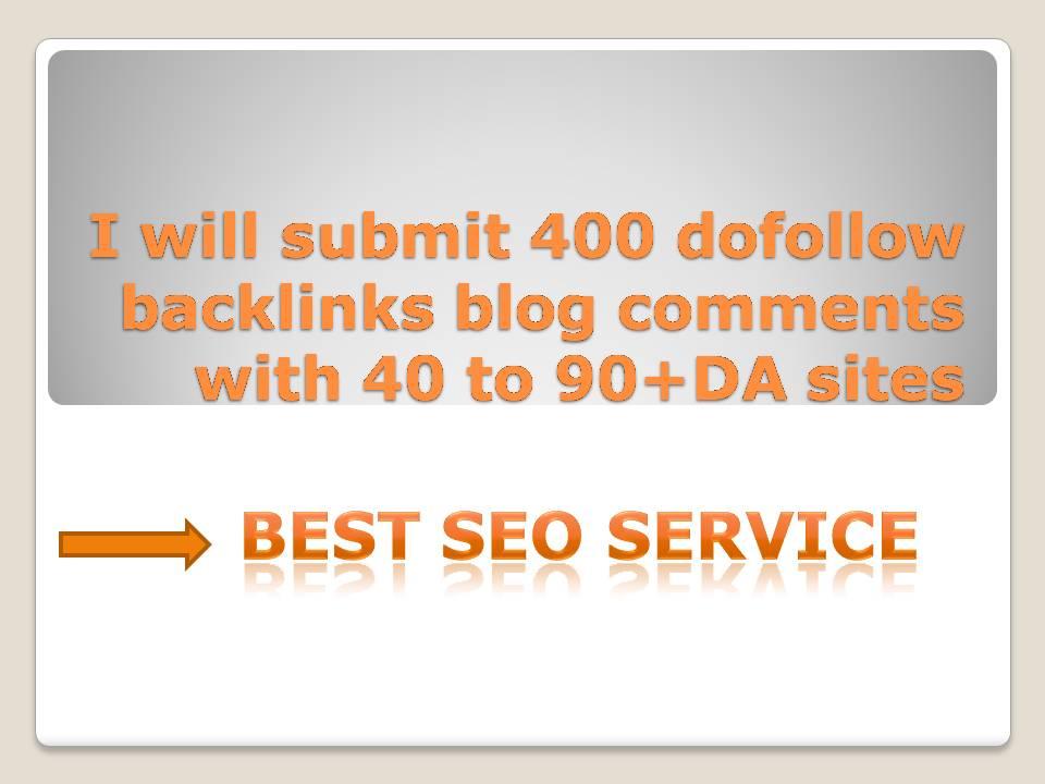 I will do 400 unique pr10 backlinks on DA 40 to 90+ sites