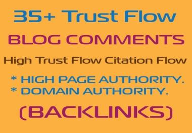 I will provide best blog comment backlinks