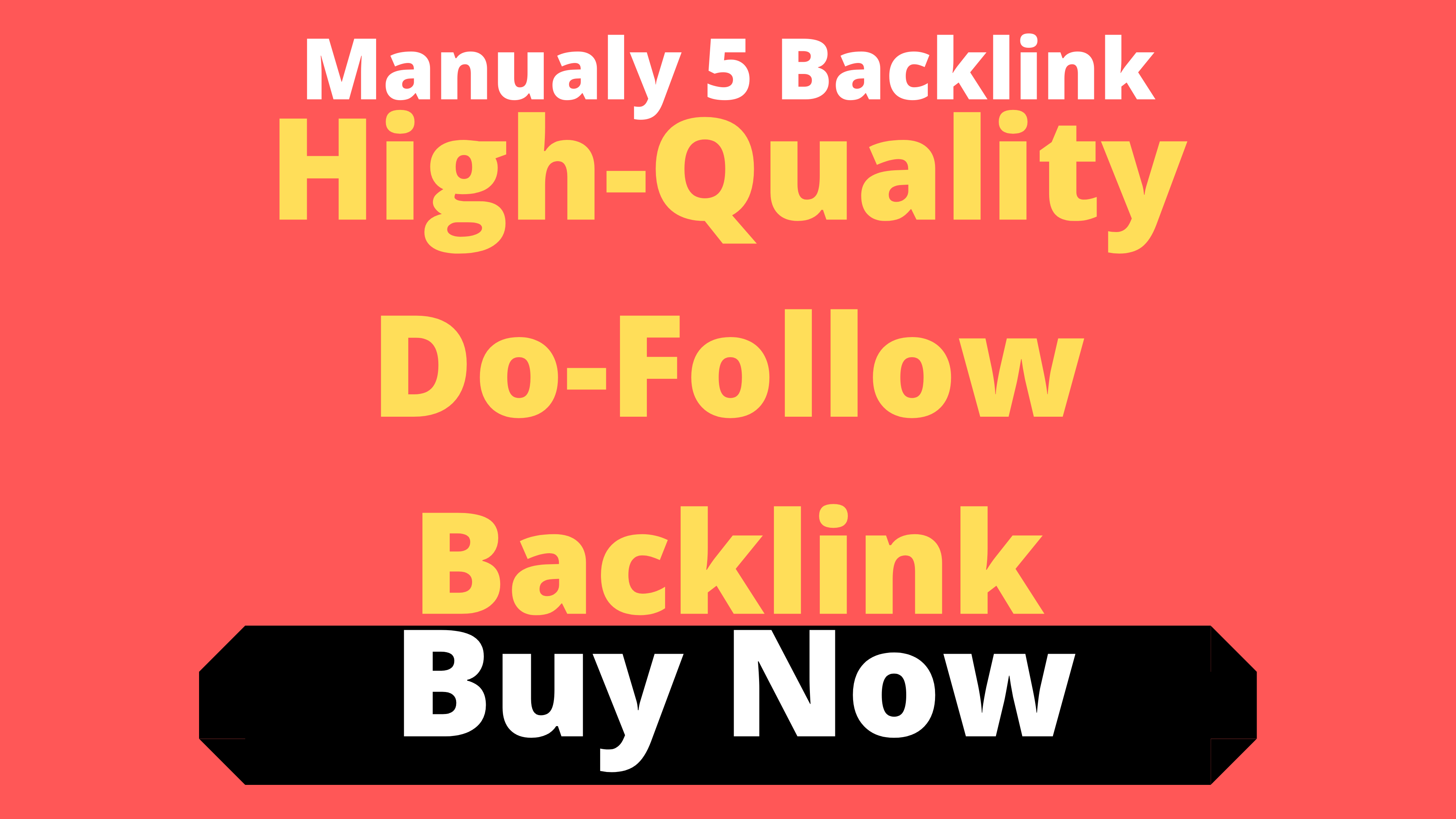 Manual Done 5 High-Quality Profile Do-Follow Backlink White Hat SEO