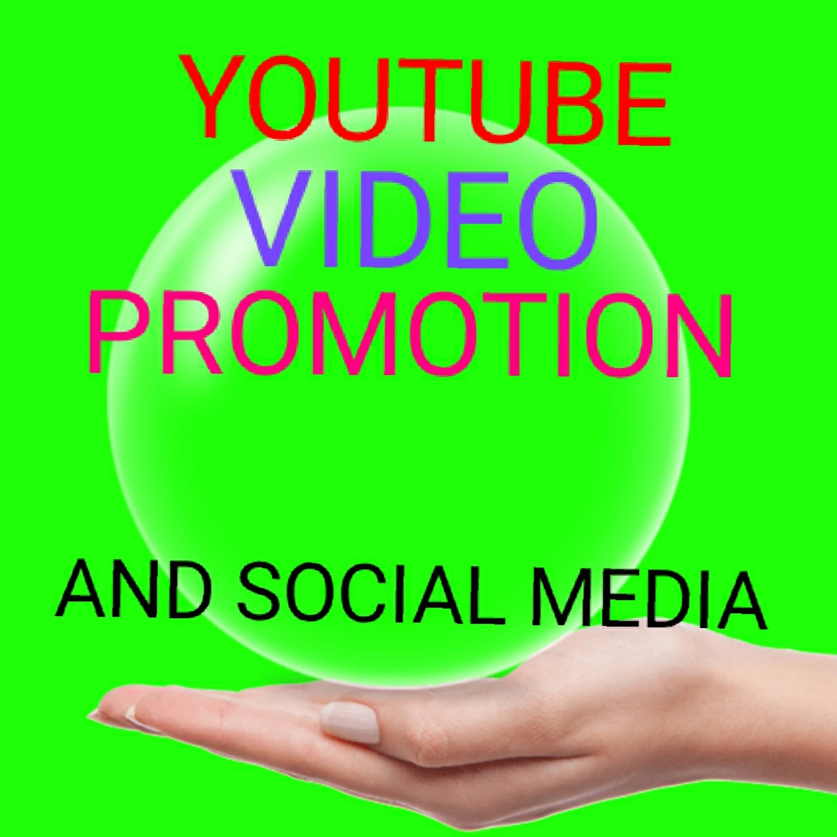 Real YouTube video promotion and social media marketing