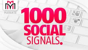 We Provide Social Signal Services High DA