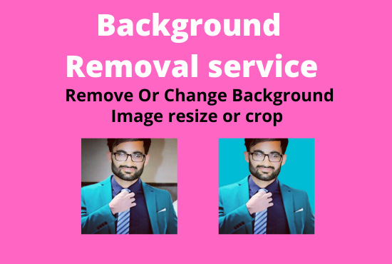 I will Remove image background or resize crop image