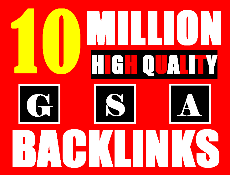 10 million gsa ser backlinks for faster ranking website, page, video