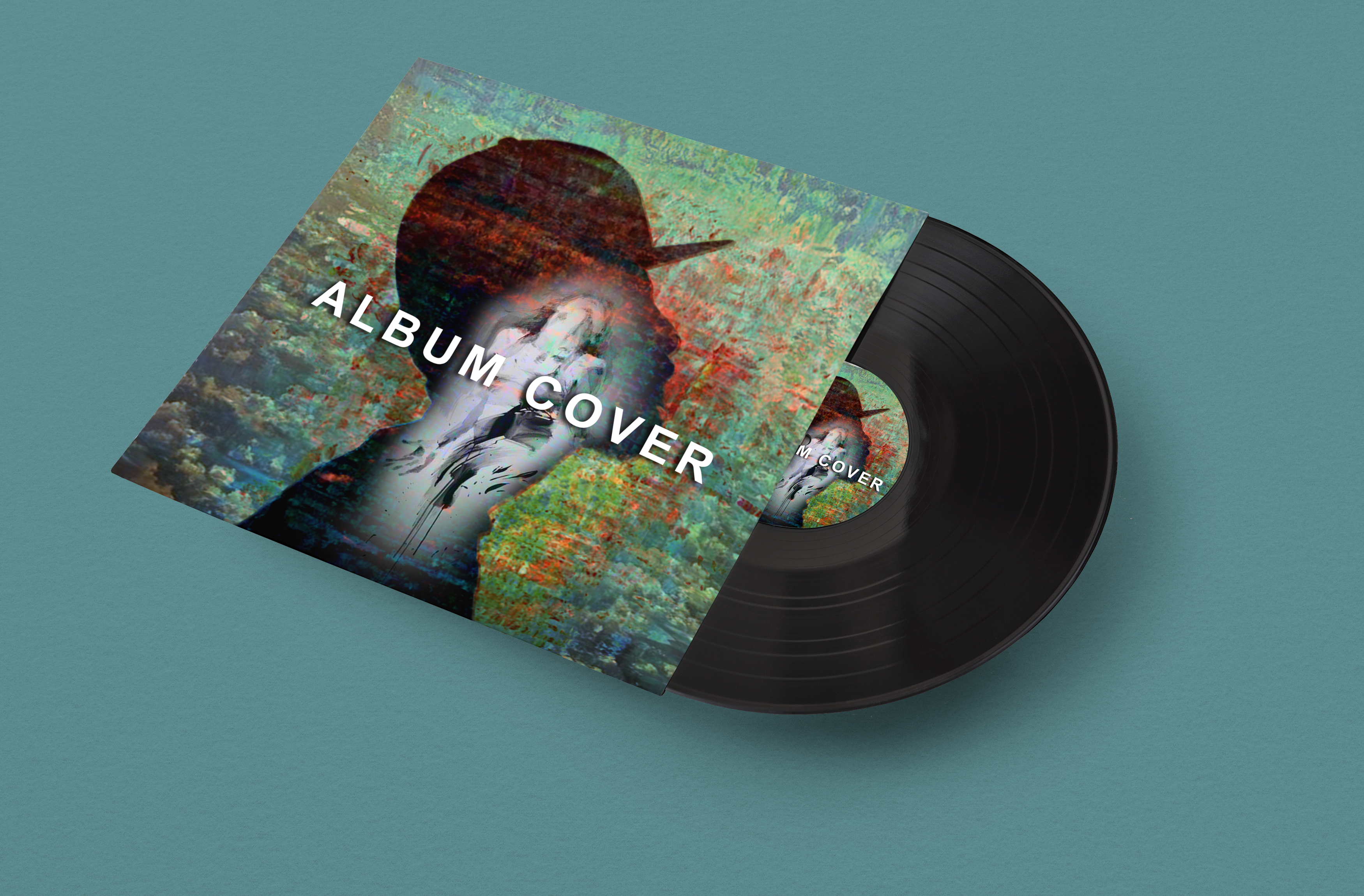 design single cd cover,  album cover or artwork