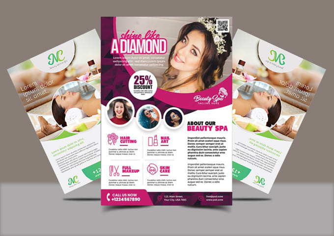 create beautiful flyers posters and brochures