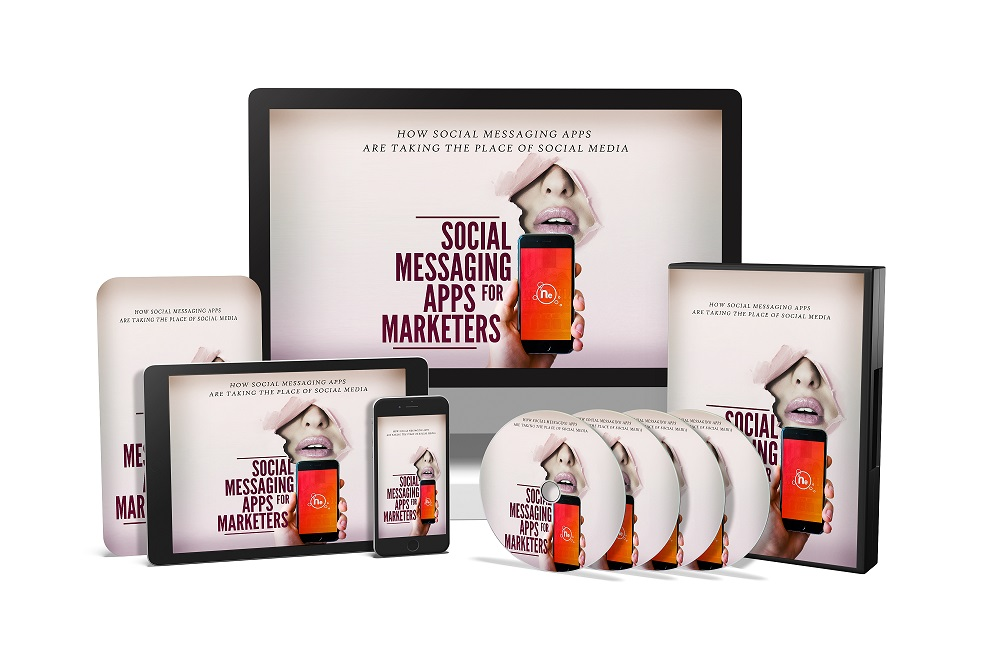 Complete Social Messaging Apps for Marketers Ebook and Video Training Guide PLR/MRR