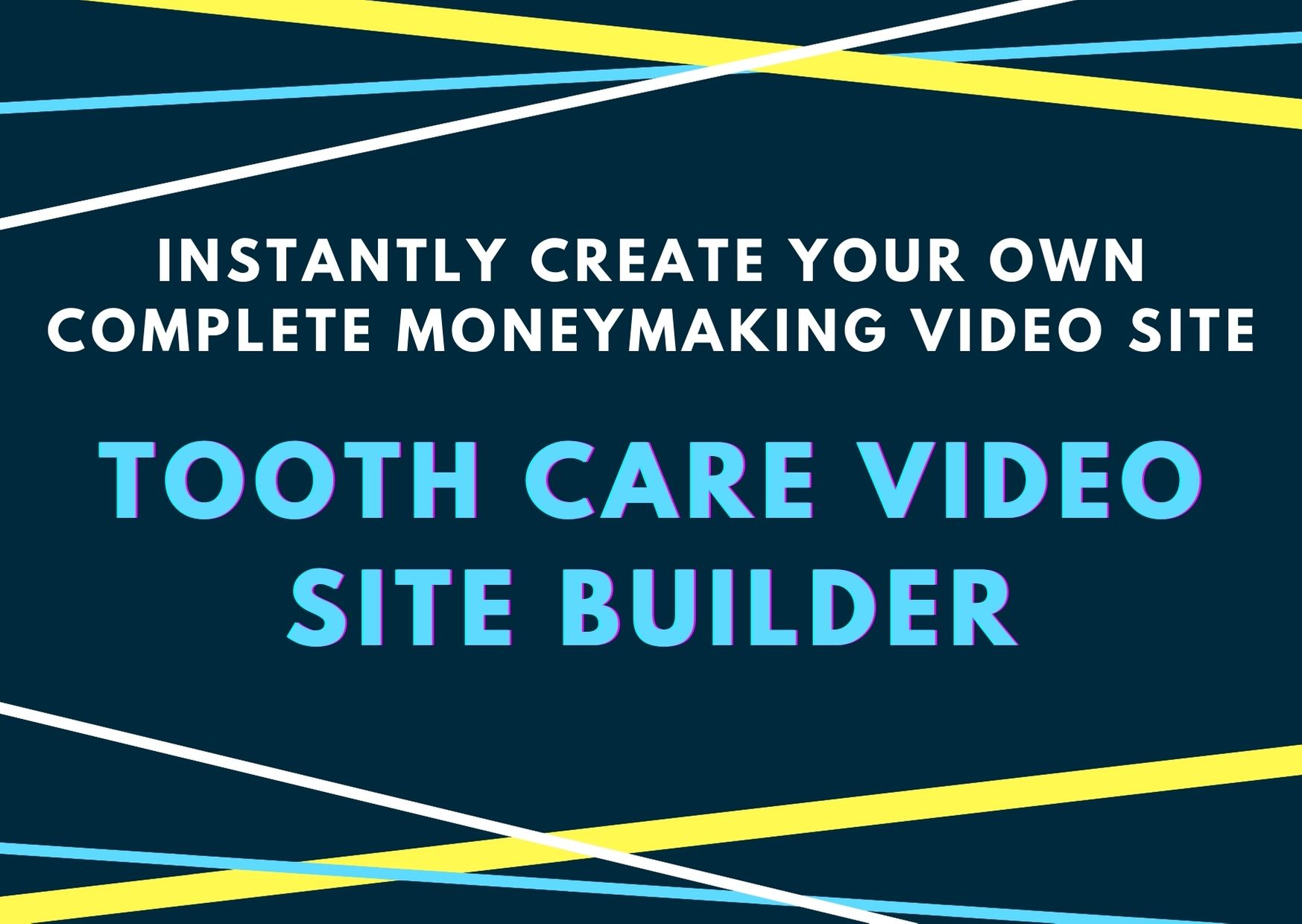 Instantly Create your own complete Money making video site