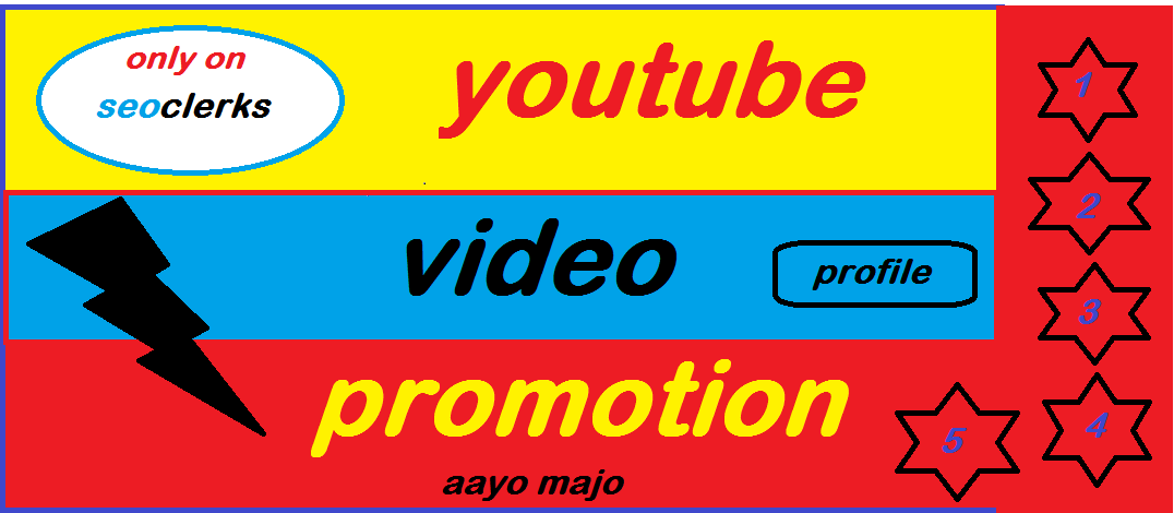 Super Fast Youtube Account and Video Promotion Marketing