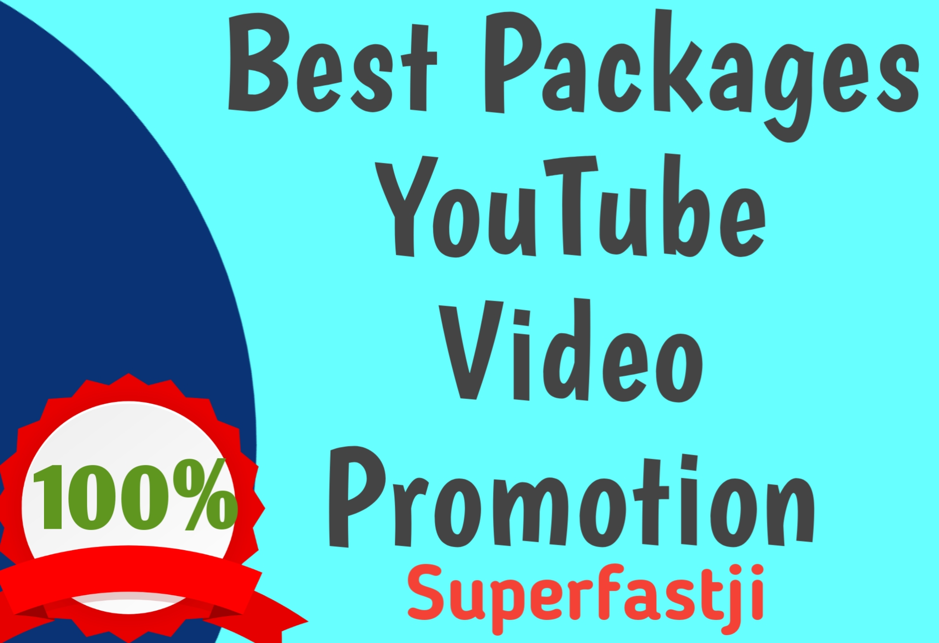 Package for YouTube Video Promotion Faster Work
