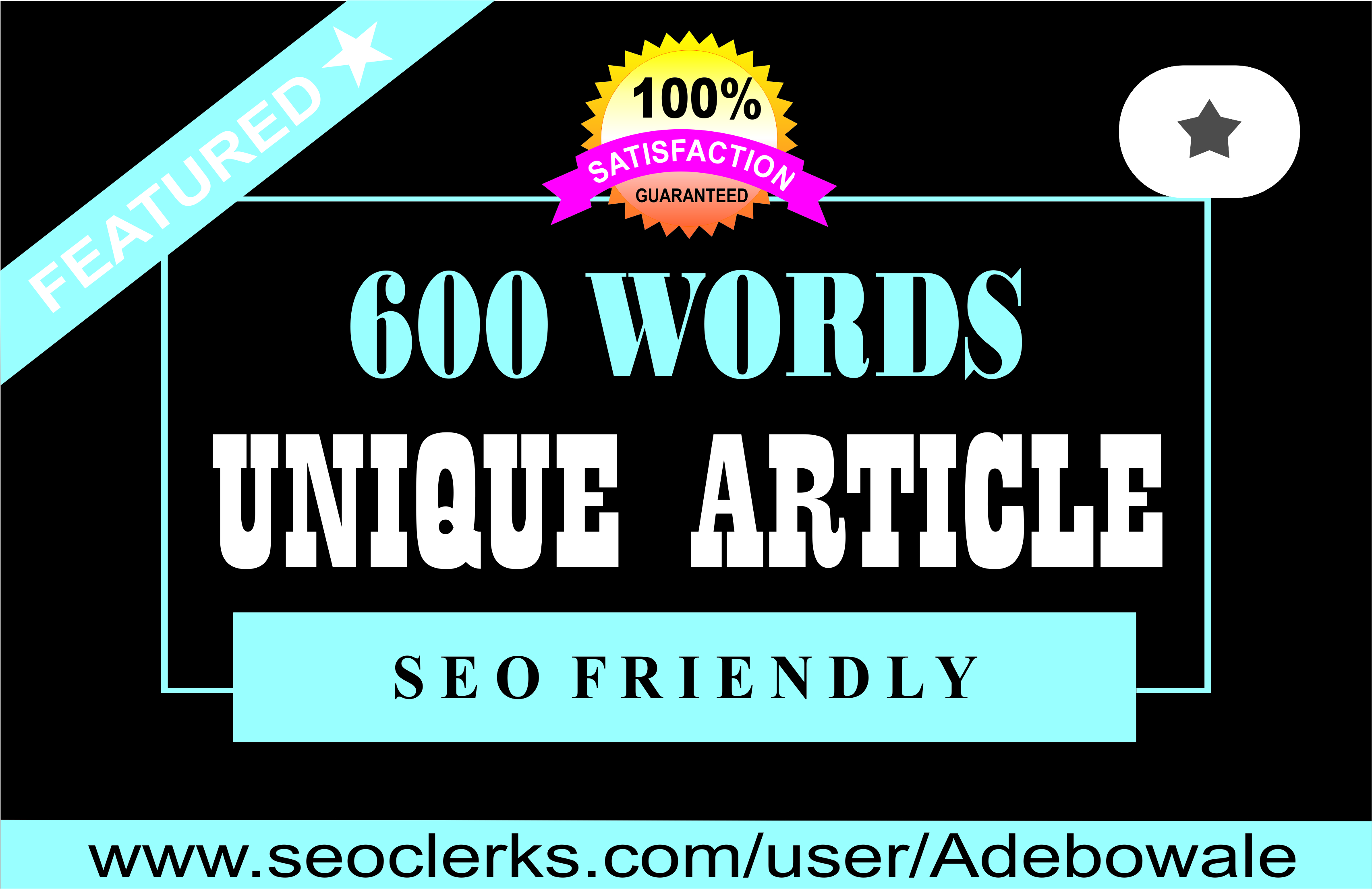 Professional 600 words SEO optimized Article Writing / Content Writing for your website/blog