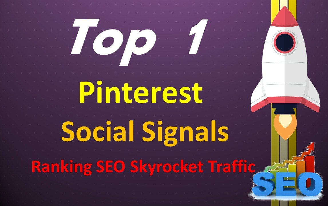 HQ 10,000 Pinterest Real Repin Social Signals To Your Website