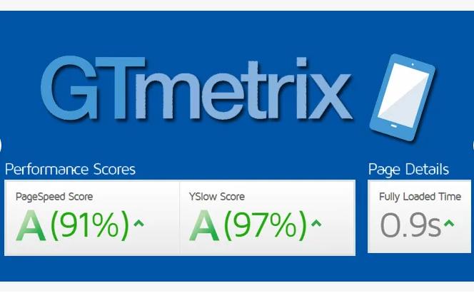 I will speed up your website on gtmetrix