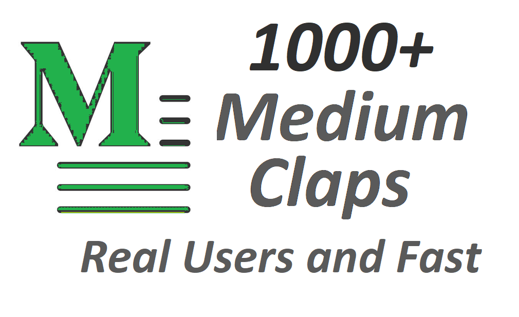 Get set you 1000+ Medium Claps on your Medium Article medium