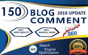 I will do 150 Unique Domain high DA 70 quality dofollow blog comments backlinks