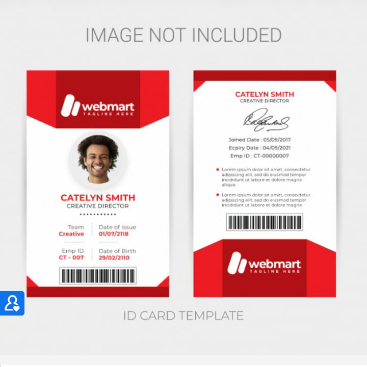 Create Your Own ID / Business Card