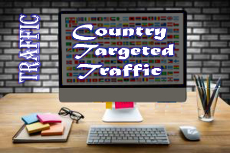 500+ Daily Country Targeted Traffic from social media,  search engine,  blog etc