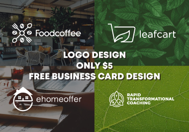create simple and modern logo brand for visual identity business company