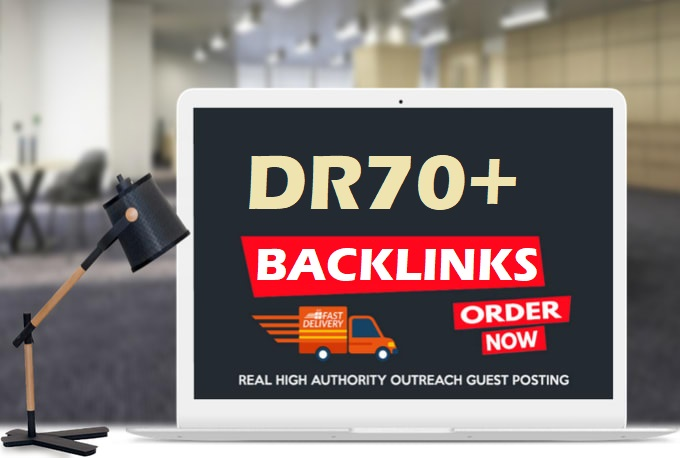 Build Manually 200 DR70-DR90 High Authority Backlinks To Rank Site On Google 1st Page