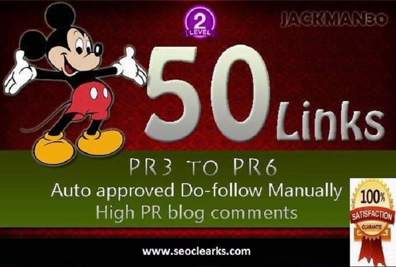 I will build 50 Dofollow Blog Comment Backlinks