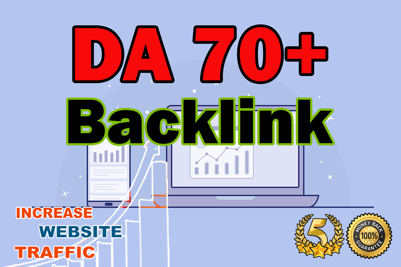 PR9 - DA Domain Authority 70+ HIGH QUALITY BACKLINK SERVICE