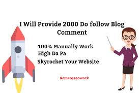 i will do 2000 blog comment do-folow backlinks
