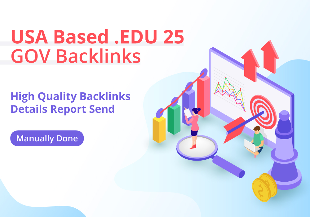 USA Based 25 EDU-GOV Profile Backlinks TOP NOTCH
