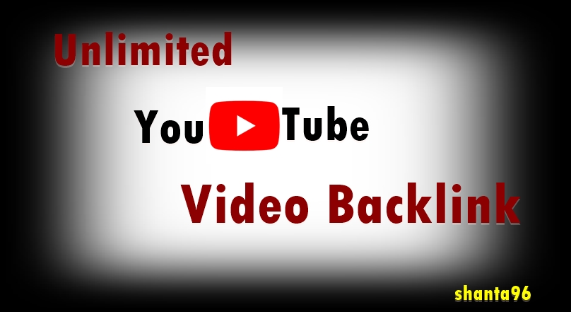 I will create unlimited video backlink