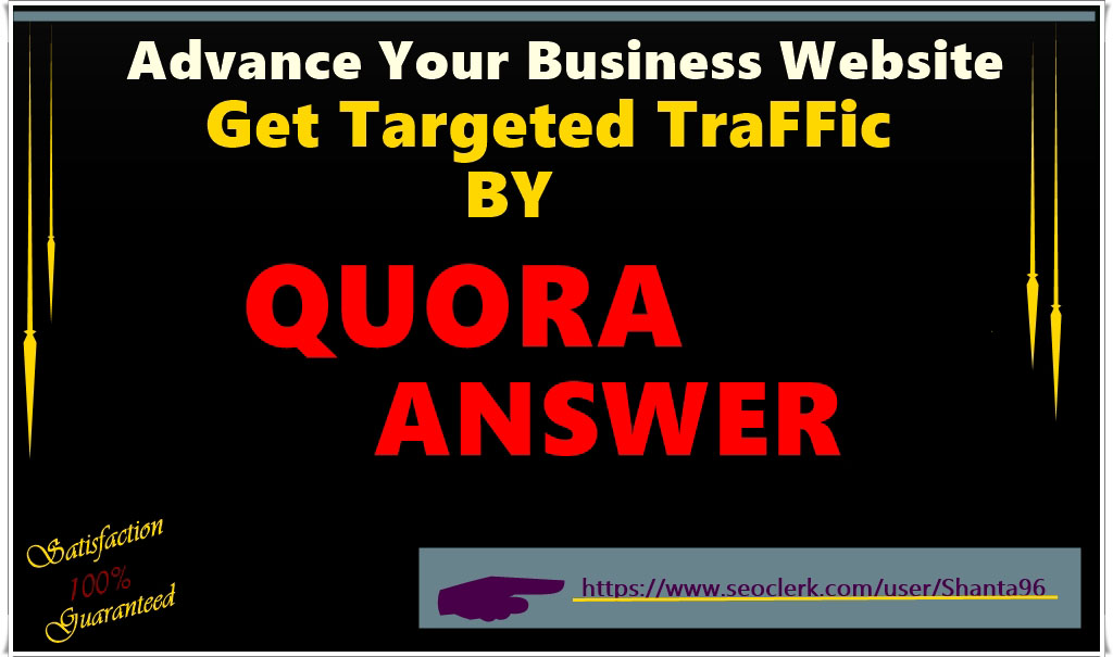 Intentionally advance your business website with highly engaging Quora answers