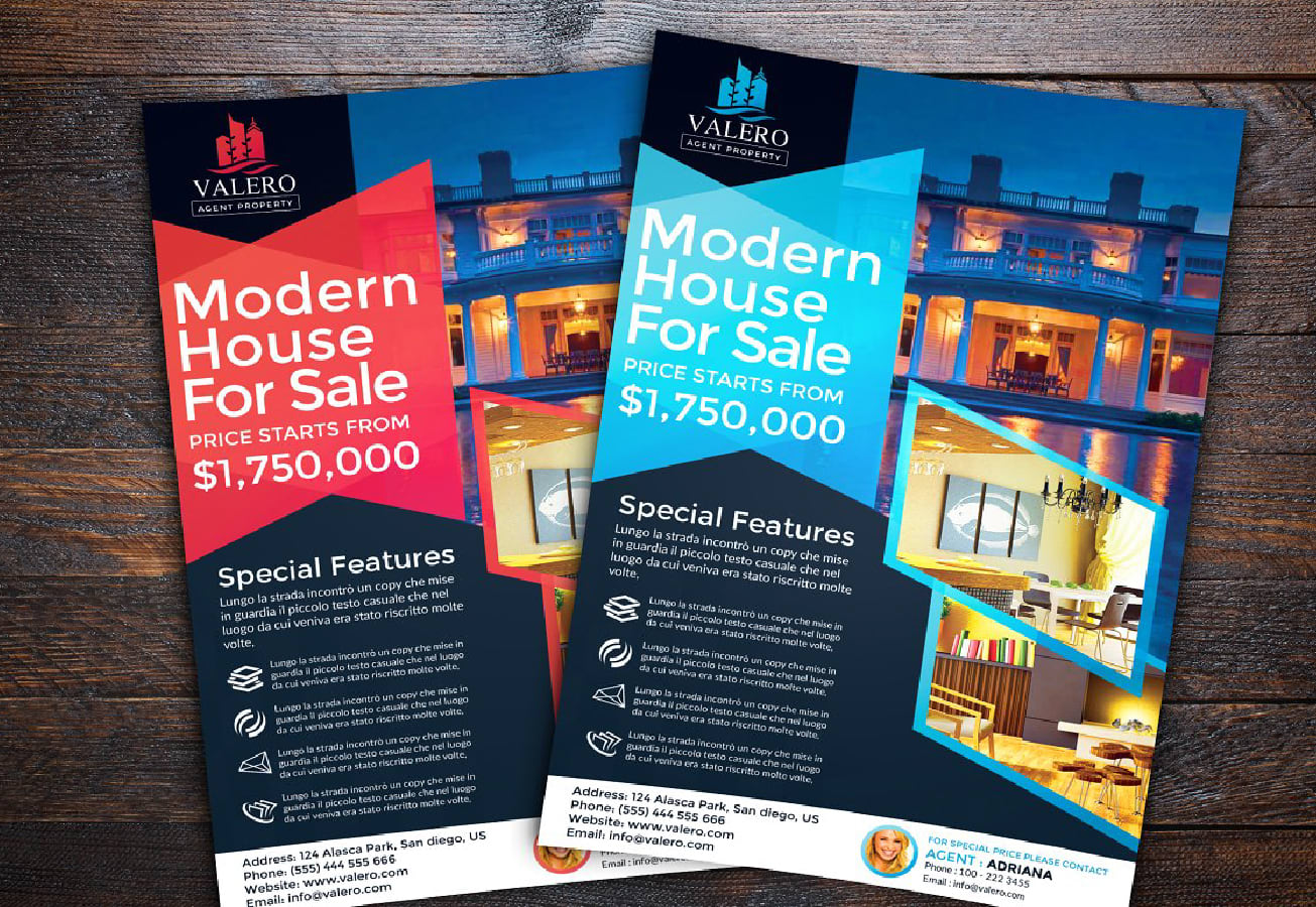 I will design creative and attractive flyer or posters for your business.