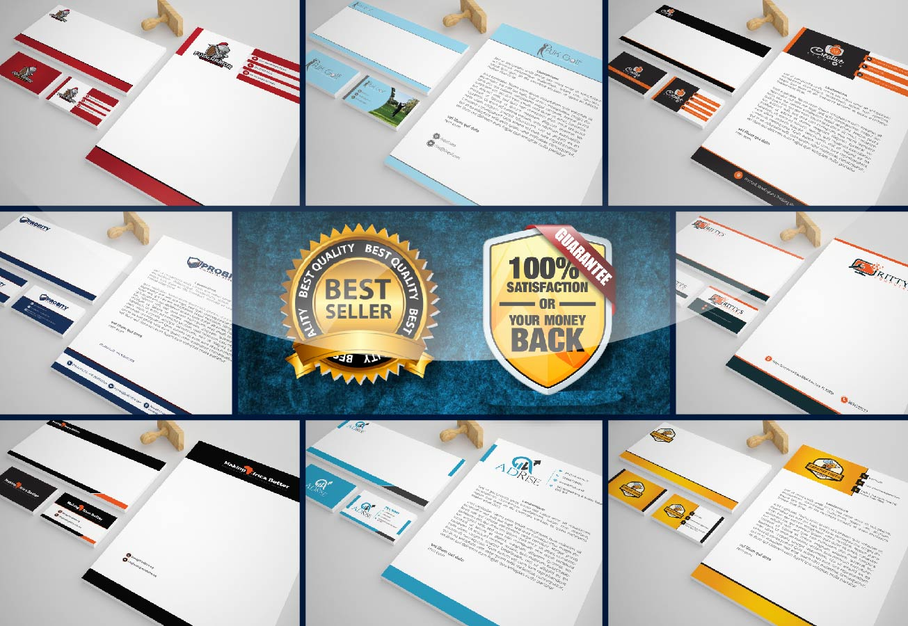 I will design premium Stationary design