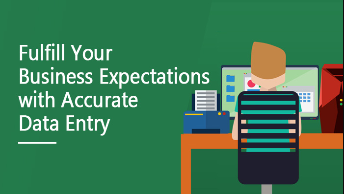 Do fulfill your business expectation with accurate data entry