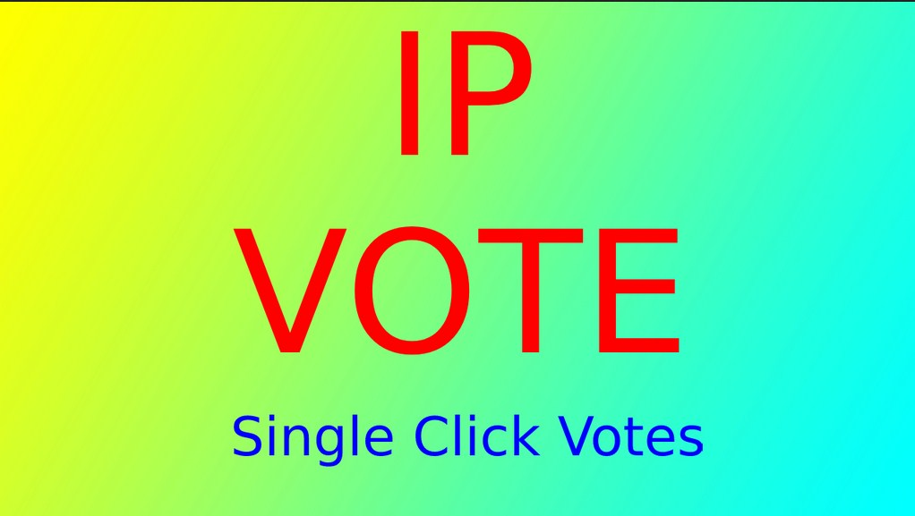 Get 1,000 votes On Your Different IP online Contest votes