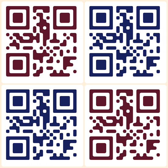 I will design a custom multicolored qr code with your logo