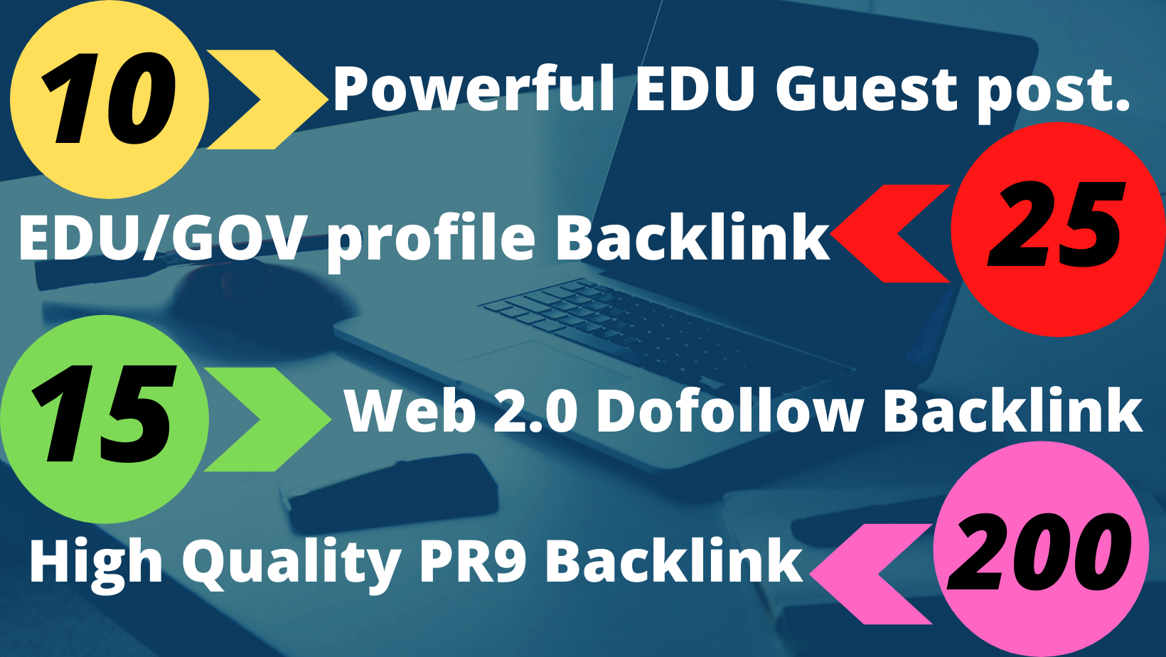 I will provide high quality guest post + backlink service for your website ranking