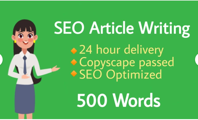 I will do SEO article writing of 500 words any niche