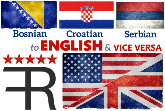 I will translate 500 words from english to bosnian in 48 h