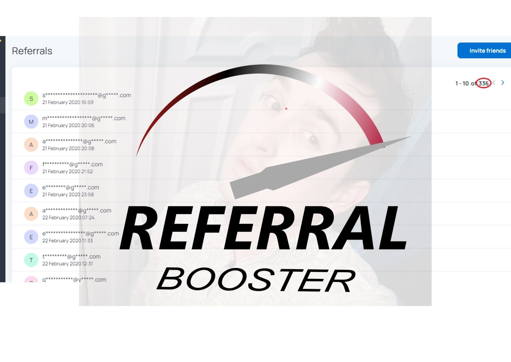 I will deliver real organic referrals by using your URL